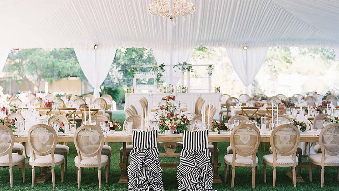 Tented Wedding Flooring